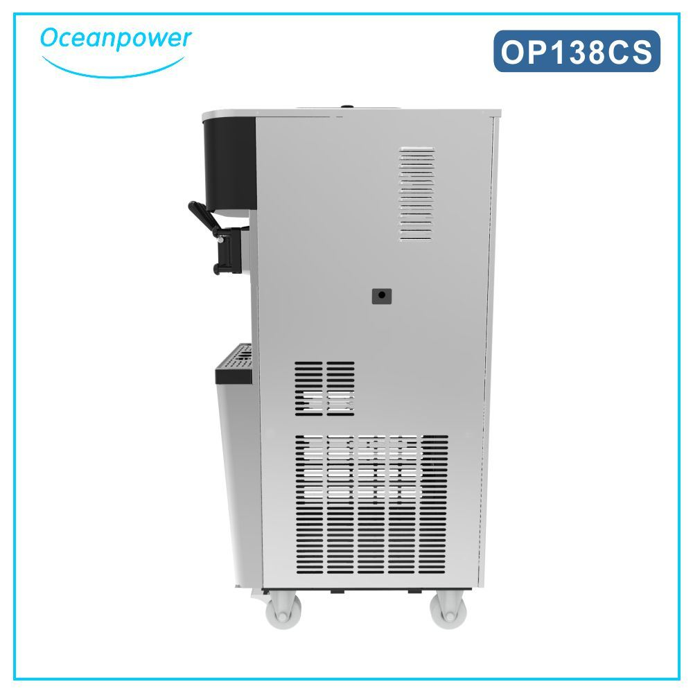Soft Ice Cream Machine (Oceanpower OP138CS)