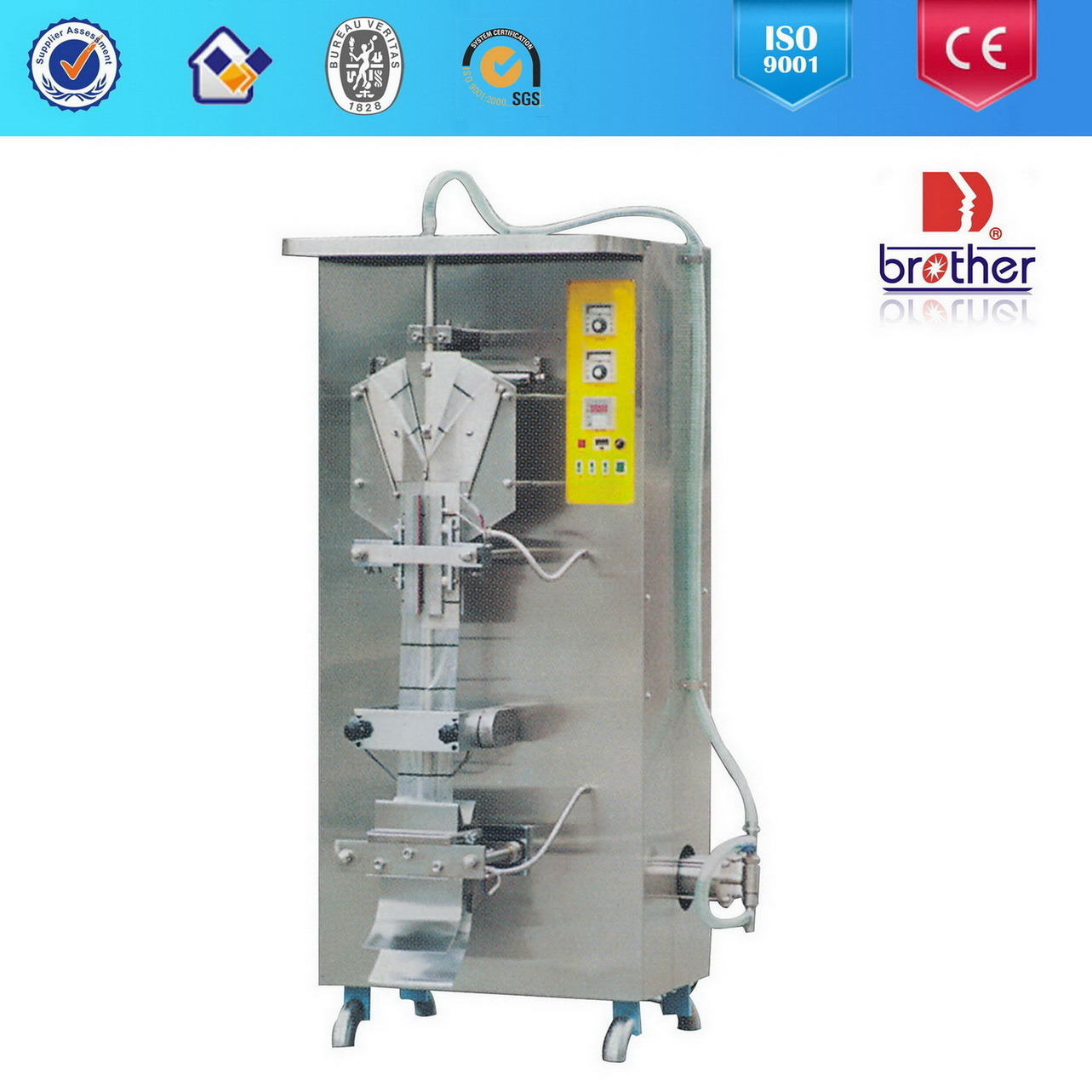 Automatic Packing Machine Paste-State Model Dxdl80c
