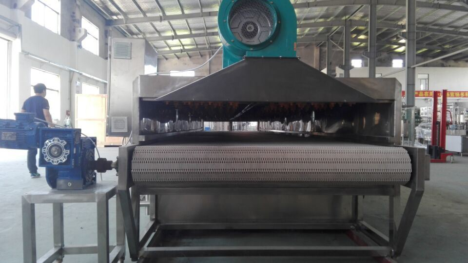 Stainless Steel Tunnel Sterilization Equipment for All Bottles