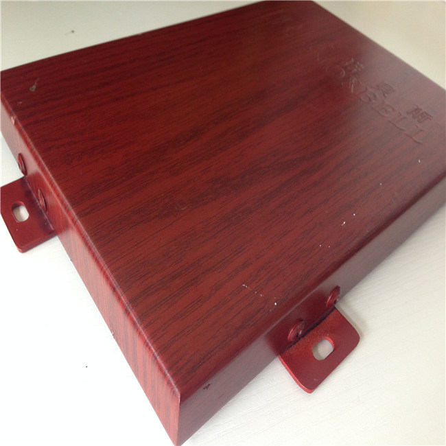 Aluminum Panel with Wood Grain for Decoration