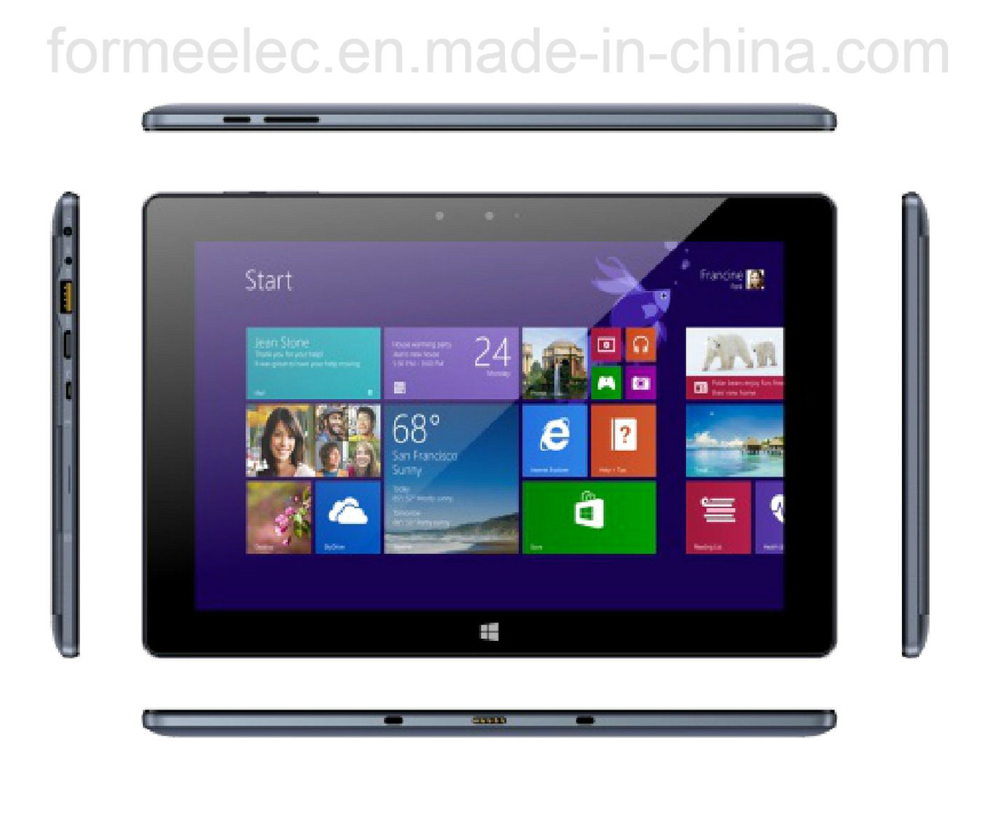 "10.1"" UMD MID Tablet PC Win10 Intel Quad-Core 2GB32GB"