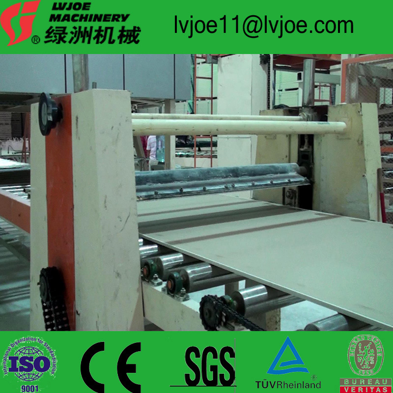 Gypsum Board Making Machinery Including Maintenance Services