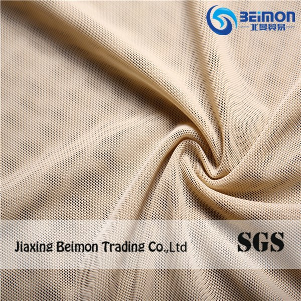 2016factory Supply 70d 90%Nylon Spandex Mesh Fabric