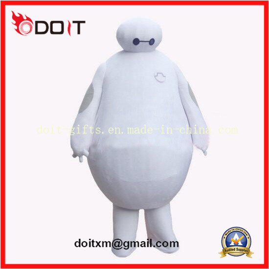 Customade Cartoon Character Mascot Baymax Mascot with High Quality