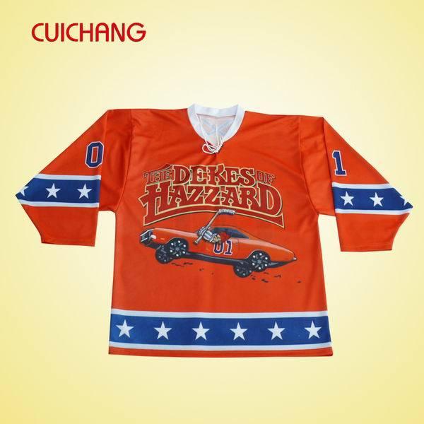 Custom Professional Ice Hockey Jersey with Sublimation