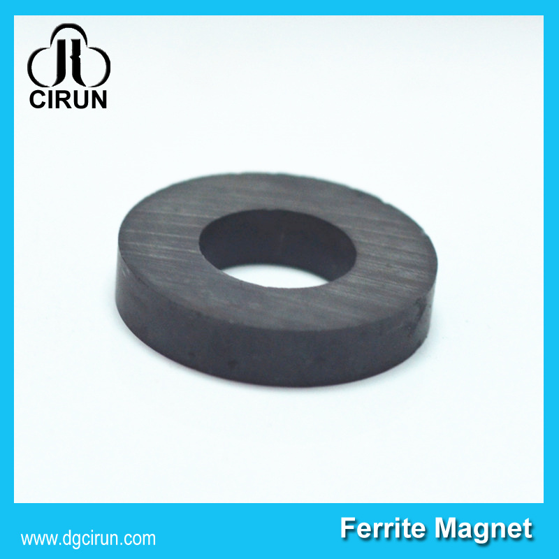 Custom Size Ferrite Ring Ceramic Magnets for Speaker