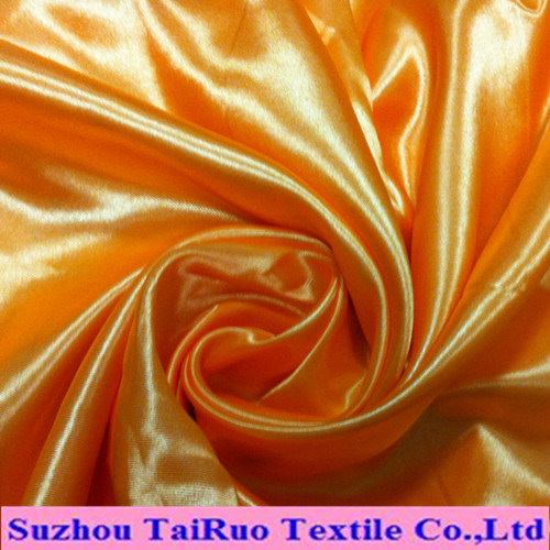 Better Quality Polyester Fabric Spandex Satin for Garment