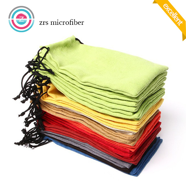 Hot Sale Microfiber Pouch with Drawstring
