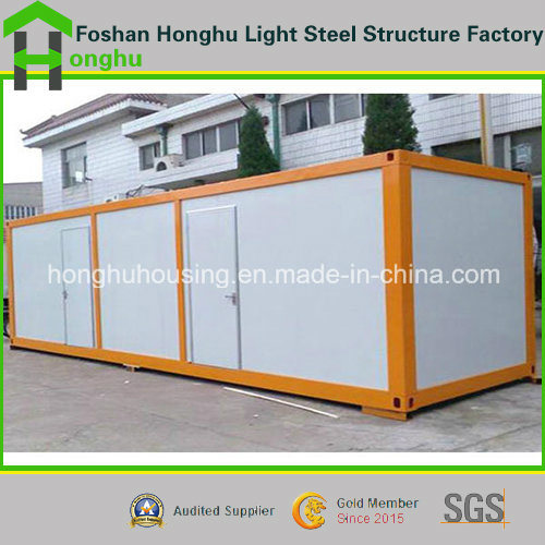 Prefabricated Steel Container House Porta Cabin House for Labor Apartment