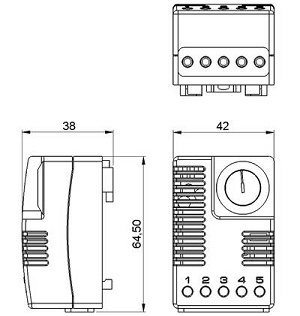 Electronic Hygrotherm Etf 012 Thermostat