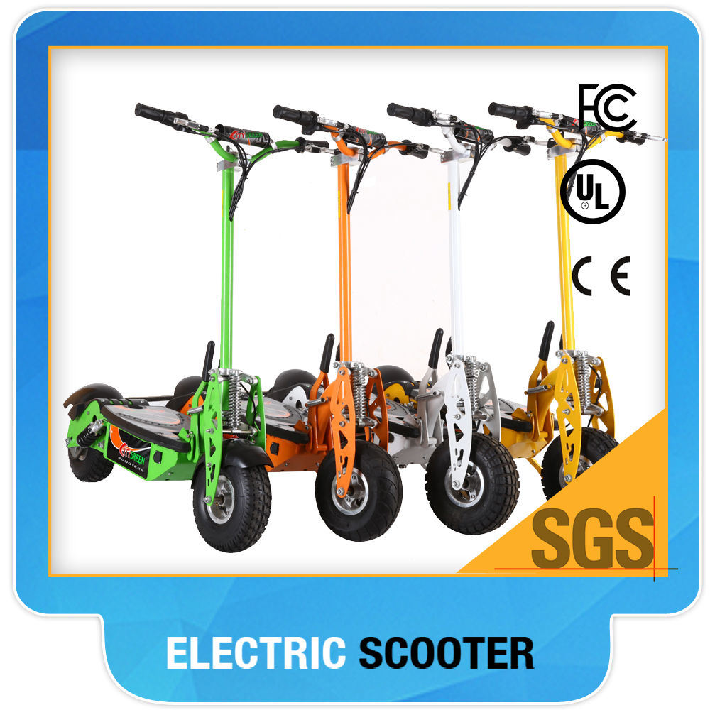 Two Wheel Electric Scooter Green 01-800W