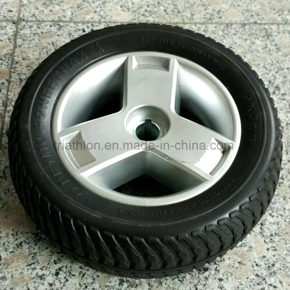 7X2 8X2 9X3 10X2 PU Foam Flat Free Tire