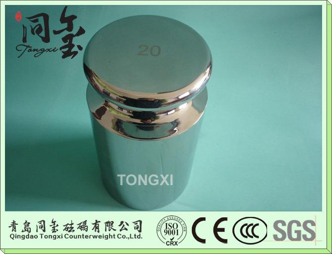 OIML Standard Stainless Steel Test Weight