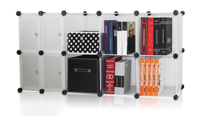 Wall Cube Storage, Home Storage Products (FH-AL01027-4)