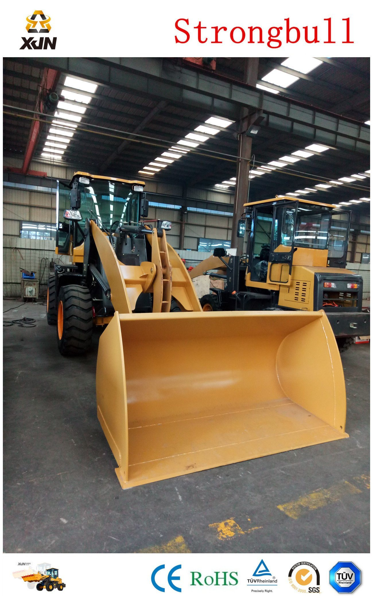 Famous Brand China 3 Ton Mini Front End Wheel Loaders (ZL936)