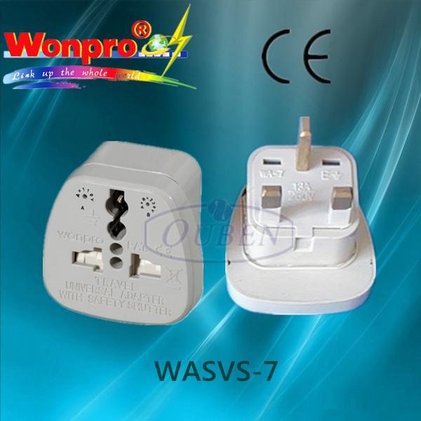 Universal Travel Adaptor WASVS-7 (Socket, Plug)