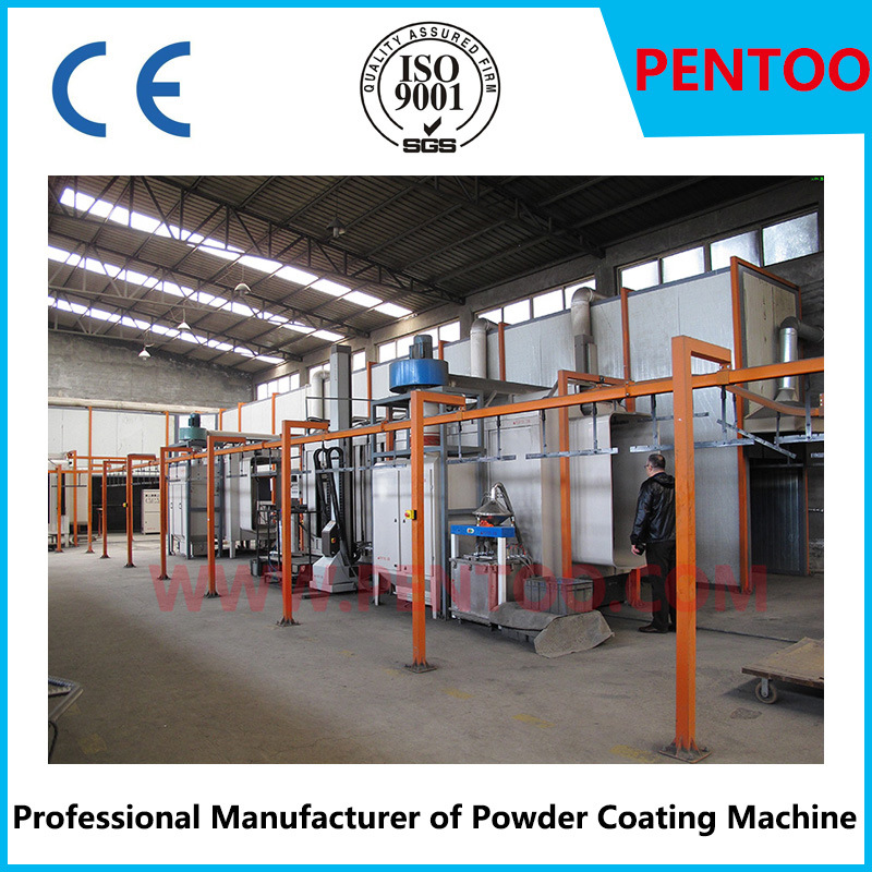 Latest Powder Sieving Machine in Powder Coating Line