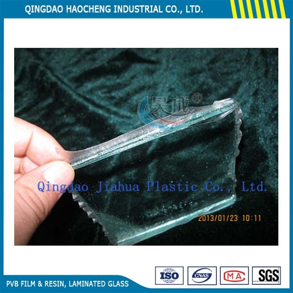 Strong Function Jiahua Virgin Resin PVB Film for Glass Production with Ce Certificate