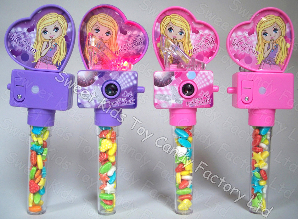 Flash Shoes Camera Viewer Toy Candy (120310)