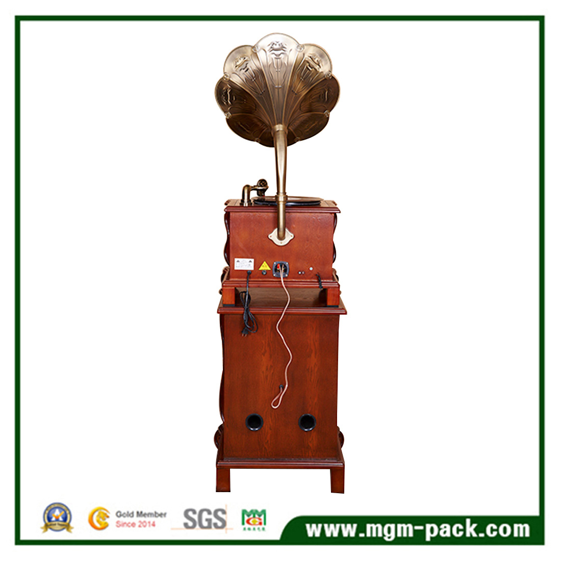 Factory Price Modern Style Wooden Phonograph