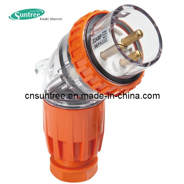 Australia 56PA332 IP66 32A Clipsal Plug Weatherproof Industrial Plug