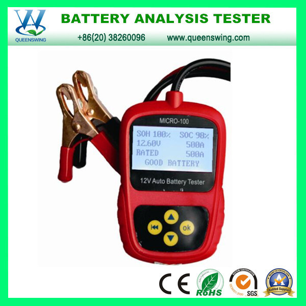 china 12v lcd display car battery load tester qw micro 100 photos pictures made in. Black Bedroom Furniture Sets. Home Design Ideas