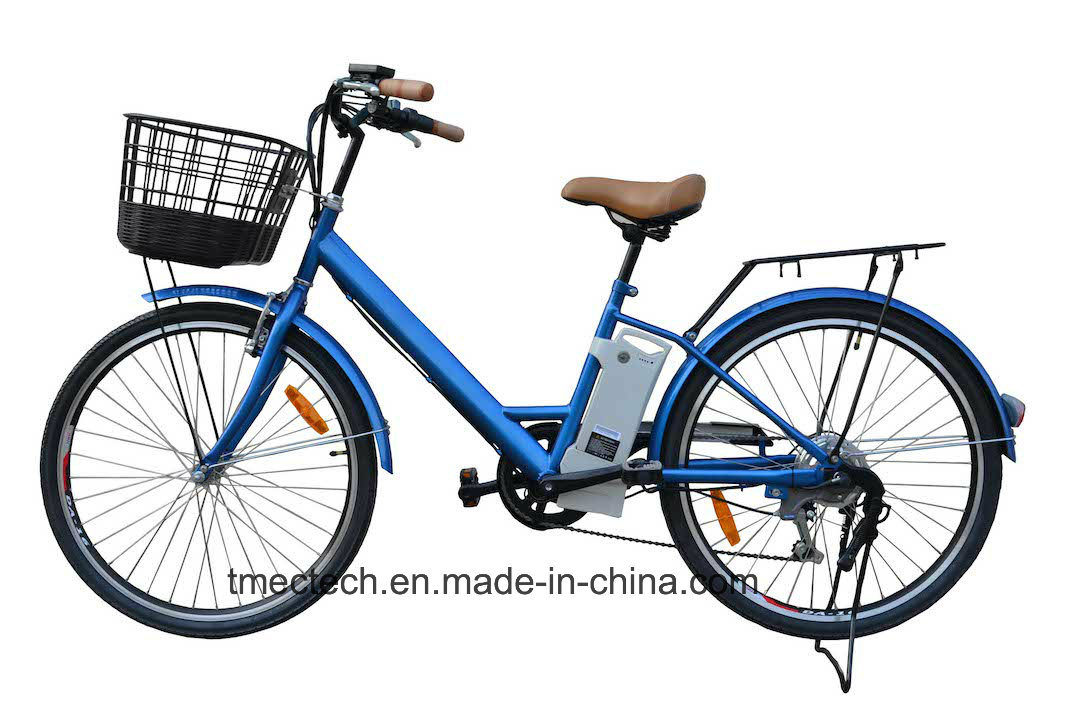 250watt 36V 10 Ah with Basket CE Electric Bicycle