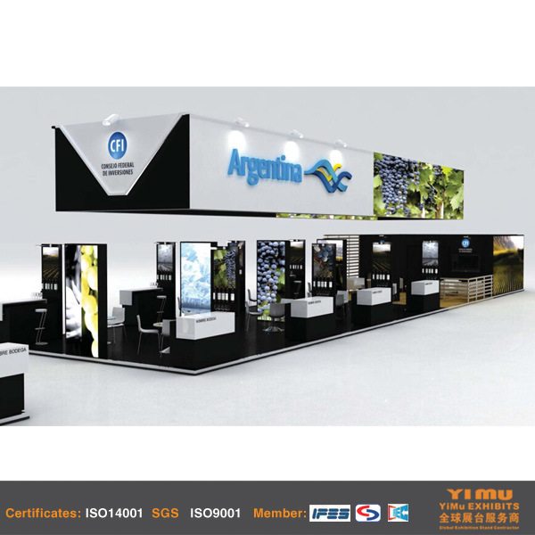 Booth Stand Display Design for Country Pavilion in Shanghai