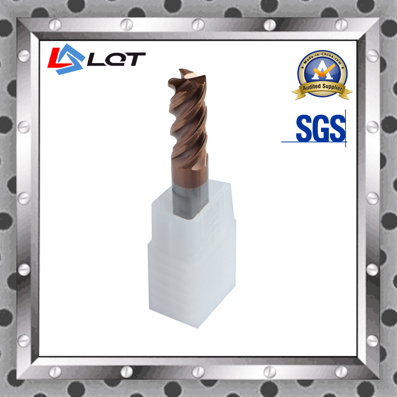 CNC Tungsten Carbide Milling Cutter Tools for Aluminum and Cooper