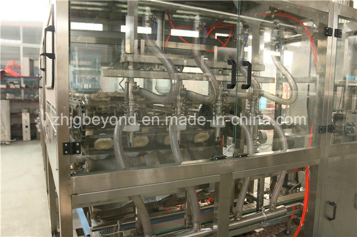 Automatic 5 Gallon Barrel Water Filling Machinery with Ce Certificate