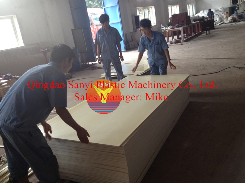 PVC Crust Foam Board Extrusion Machinery for Building Templete
