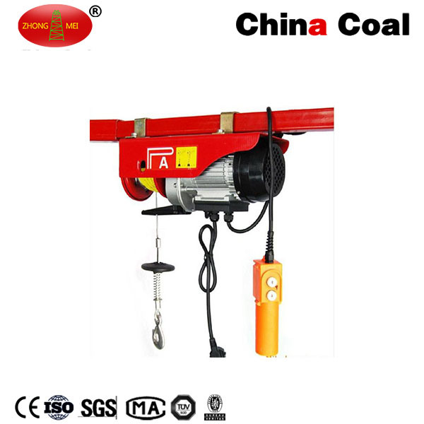 China Coal High Quality 220V Small Electric Chain Hoist