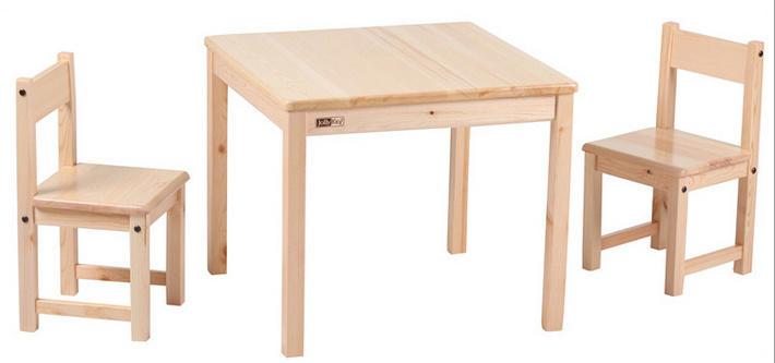 Wooden Table and Chair Children Study Table and Chair (M-X1074)