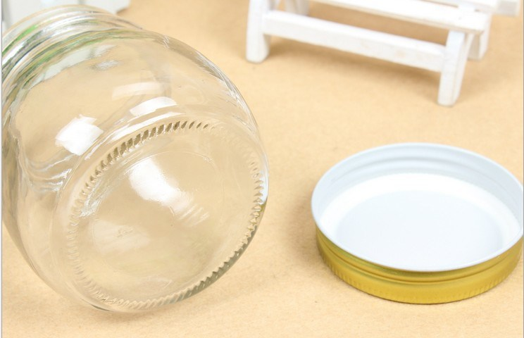 Empty Glass Jar/ Mason Glass Set/ Mason Glassware