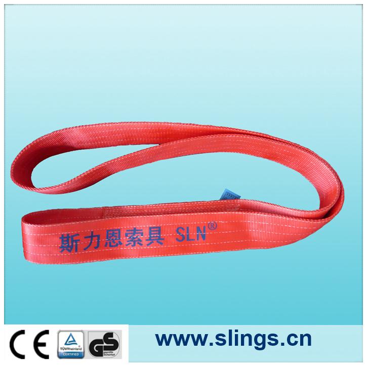 Safe Lift Webbing Sling Soft Webbing Slings Endless Type