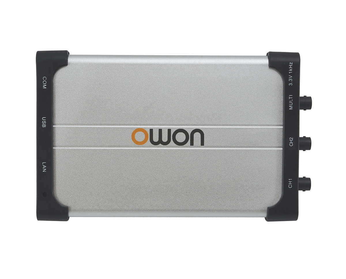 OWON 50MHz 250MS/s Dual-Channel PC Oscilloscope (VDS2052)