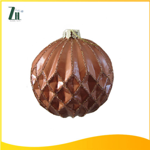 Hand Made Glass Crafts for Christmas Tree Decoration