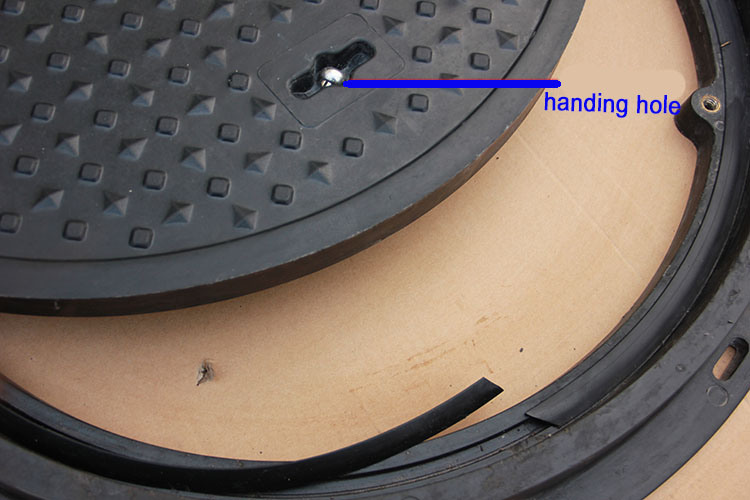 En124 Corrosion-Resistance Poor Price Composite Manhole Cover Made in China