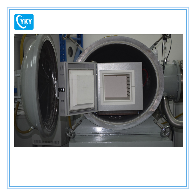 1200c Water-Cooling Touch Screen High Vacuum Brazing Furnace
