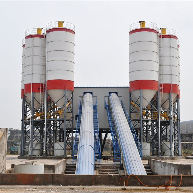 180 M³ /H Belt Convey Type Concrete Mixing Plant