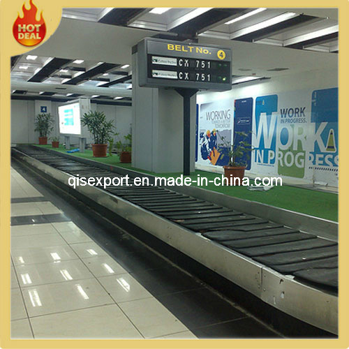 Customized Adjustable Height Inclined Movable Airport Belt Conveyor