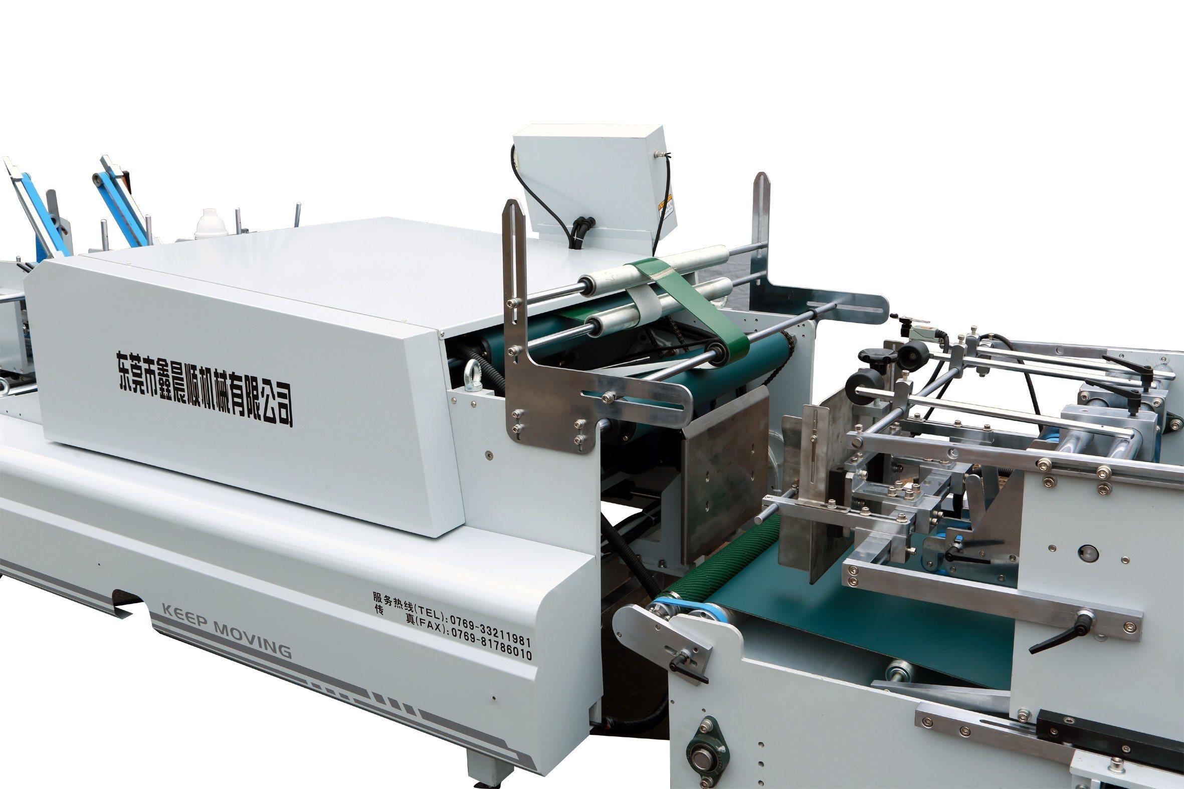 Xcs-1450fcn Carton Corrugated Box Folder Gluing Machine