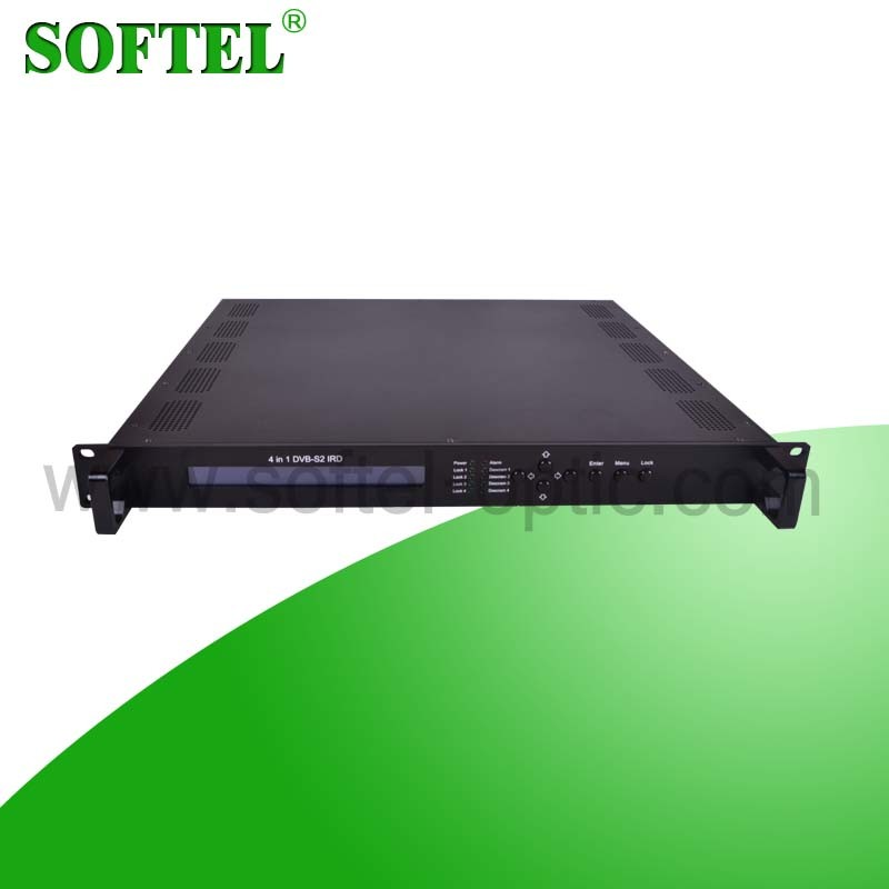 MPEG 2 SD IRD with 2 Ci Slots (DVB-C/S/S2 to ASI/IP)