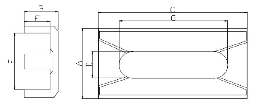Professional Supplier for Transformer Core (EDR41)