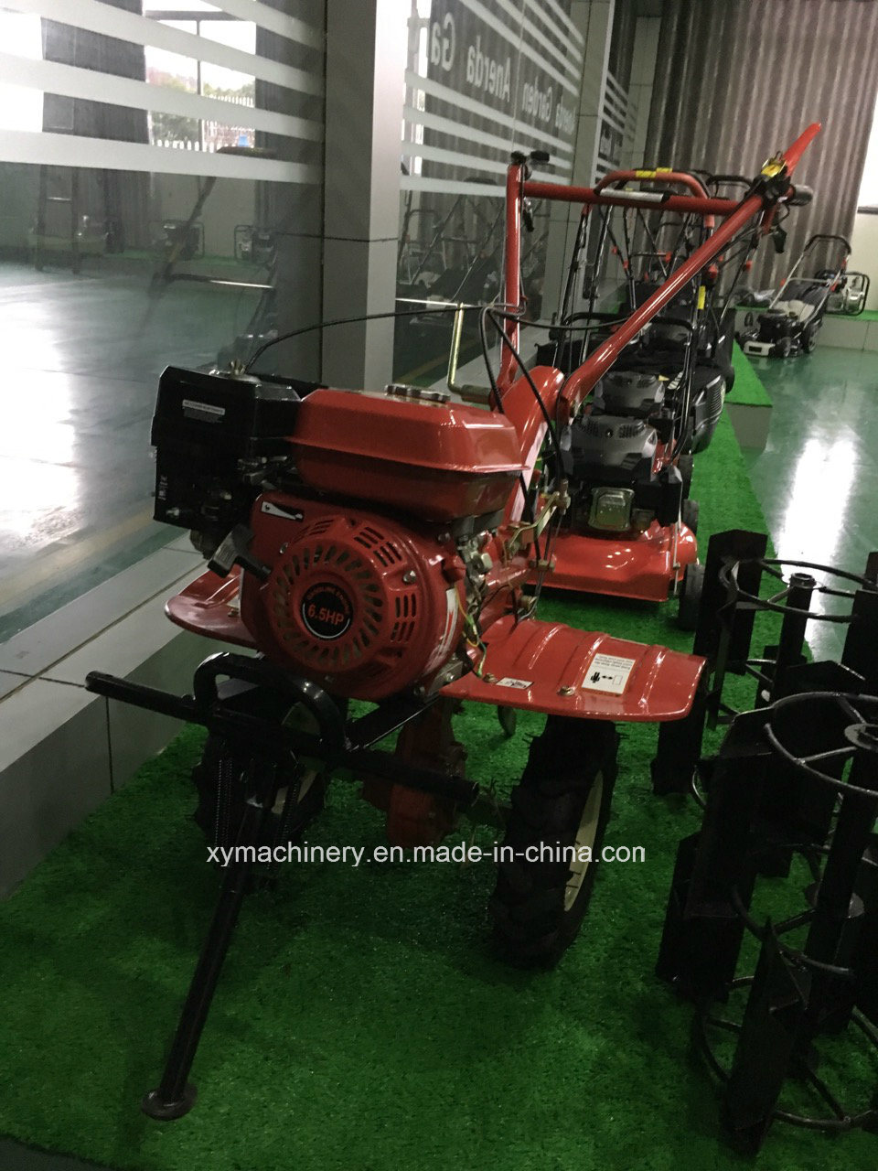 13HP 6.6kw Power Tiller Gasoline Engine Mini Tiller Rotary Tiller
