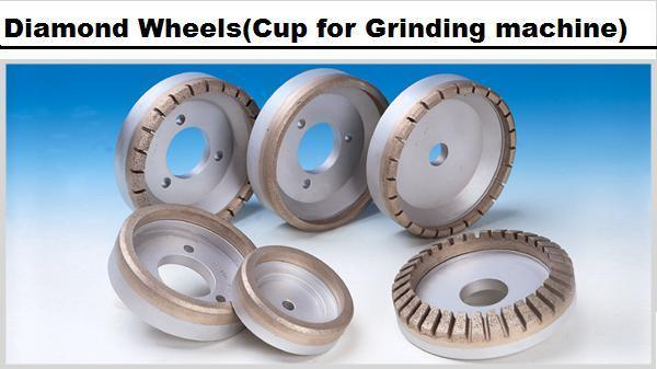Diamond Wheel (Cup for grinding machine)