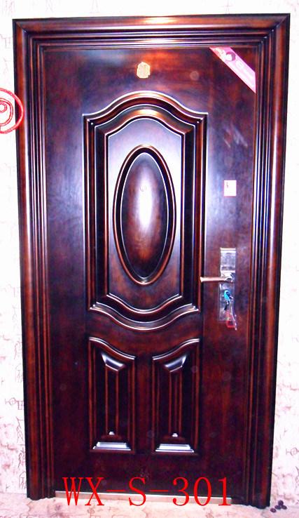 Competitive Steel Security Door (WX-S-285)