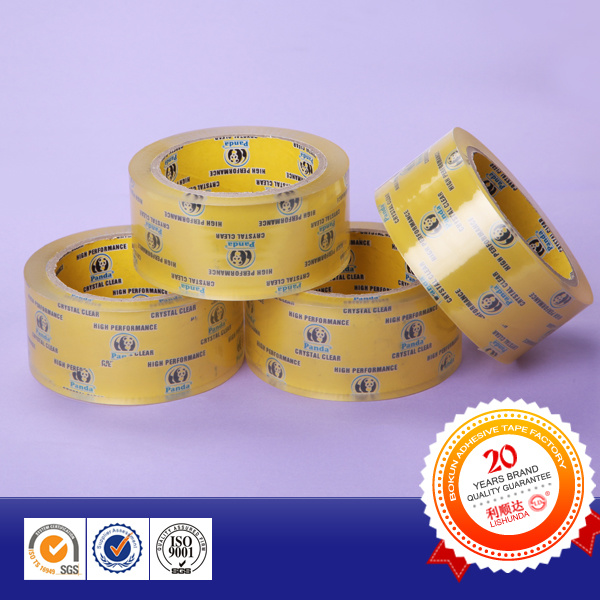 Transparent Crystal Clear BOPP Adhesive Packing Tape