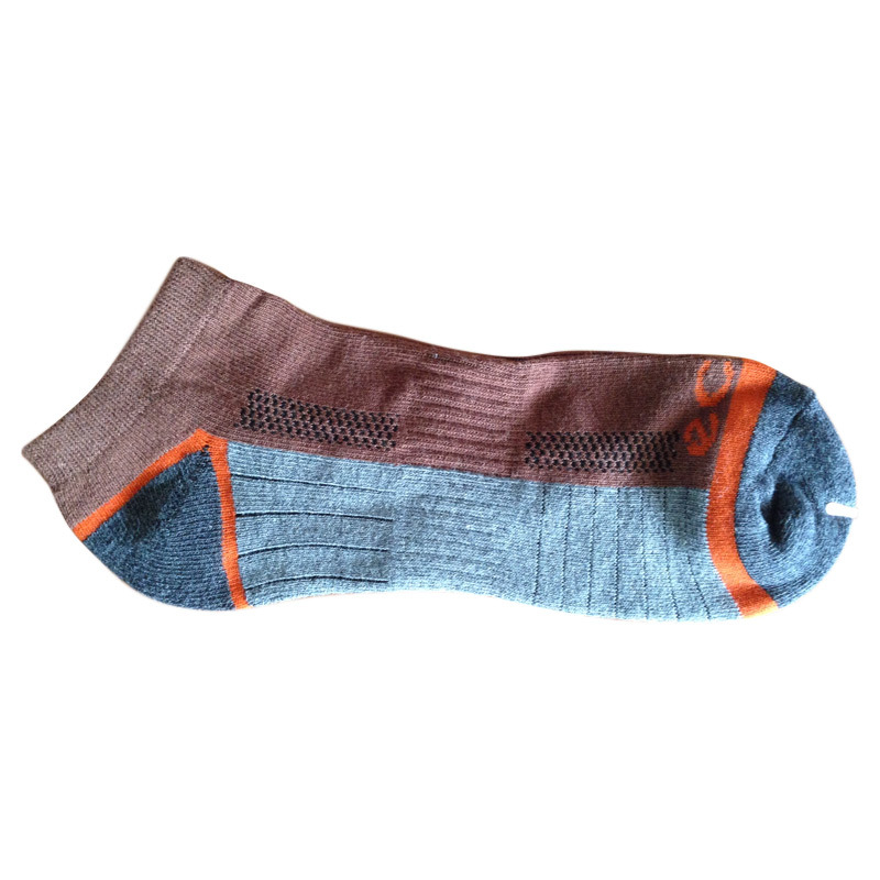 Men Women Fashion Terry Sports Socks with Cotton (fcs-05)