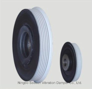 Crankshaft Pulley / Torsional Vibration Damper for Peugeot 0515. V6